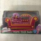 NEW Girl Lalaloopsy Alarm Clock Radio Pink Sofa W/ Doll