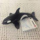 "NEW Schleich Sea Life Killer Whale Calf Figure 5.25"" Long 16091"