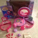 1999 Toy Biz Miss Party Surprise Make Up Party Set In Box