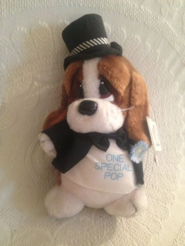 "11"" VTG 1986 Applause Sad Sam Plush Dog Tux Top Hat One Special Pop W/ Tags"