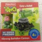 NEW Fisher-Price Trio Kilowog Battalion Canon DC Super Friends Building Set