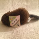 "HTF NWT 10"" Long Smithsonian Institute Soundprints Plush Stuffed Beaver"