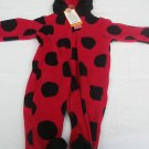 Just For You by Carters Ladybug costume Size 6 months NWT red black