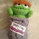 "Tyco 1999 Sesame Street Oscar Grouch Unwelcome To GrouchLand 9"" Plush Stuffed"