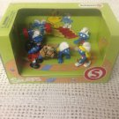 NEW Schleich Smurfs PVC Figures In Box Sports Runner Horse Weight Smurfette Win