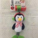 NEW Sassy Go-go Chime Along Hanging Gym Crib Baby Toy Christmas Penguin