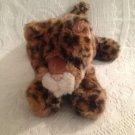 "12"" Long Plush Stuffed Leopard Cub Cat Aurora Busch Gardens Exclusive EUC"