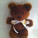 "7"" Vintage 1983 Garfield Bear Plush Stuffed Brown VGUC"
