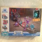 Monsters University Toxic Race Playset Roll-A-Scare Exclusive Sulley Figure