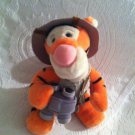 "9"" Disney World Safari Winnie Pooh Tigger Plush Stuffed Orange w/Vest Binoculars"