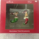 NEW Hallmark Disney Phineas & Ferb In Stockings Christmas Tree Ornament Set