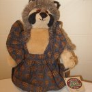 1995 Ganz Rita stuffed plush Cottage Collectible NWT with tag Racoon?