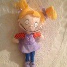 "1997 8"" Nickelodeon Applause Rugrats Angelica Plush Stuffed Doll Beanie"