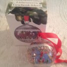 Hutschenreuther Germany 1992 Crystal Ball Ornament Folklore Of World Italy W Box