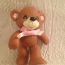 "3"" Precious Moments Plastic Teddy Bear In Walking Pose"