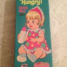 VTG 1967 Mattel Baby's Hungry Paper Doll W/ LOTS Outfits Whitman VGUC