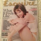 Esquire Magazine Hilary Swank 15 Tales Orgies Exorcisms Gunshots Giants