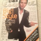 Esquire Magazine March 2004 Mark Ruffalo & Private Armies In Iraq