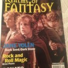 Realms Of Fantasy LOTR Jane Yolen Brian Plante Donato Dragonmaster Jan 2002