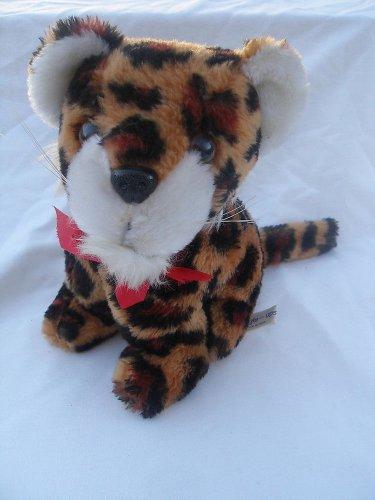 8� vintage Treasure Masters Snuggle-Ups plush leopard stuffed