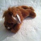 "12"" Long Plush Stuffed Flopsies Collection Aurora Leonardo Lion"