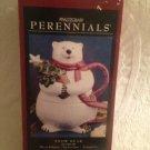 Pfaltzgraff Perennials Snow Bear Christmas Polar Bear Tea For ONe