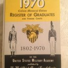1970 Register Of Graduates & Former Cadets 1802 - 1970 USA Military Academy