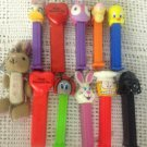 Lot PEZ Dispensers Darth Vader Garfield Daisy Duck Tweety Tigger Bunny Bug Heart