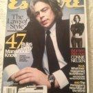 Esquire Magazine March 2003 Benicio Del Toro Connie Nielsen