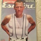 Esquire Magazine Lance Armstrong Special Issue Survival July 2004