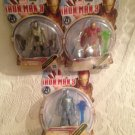 NEW Marvel Lot Iron Man 3 ShatterBlaster, Cold Snap & Ghost Armor Figures