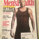 Mens Health Magazine September 2008 David Beckham & Style Guide