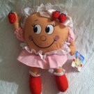 "10"" Applause Plush Stuffed Doll Suzie Strawberry Pancake IHOP With Tag"