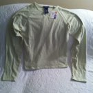 NWT SO GSJC Juniors Stretch Tee Shirt Sz Large Light Mint Green SOFT!