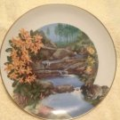 VTG 1981 Royal Windsor Wild Honeysuckle Wildflowers Of South Plate Ralph Mark