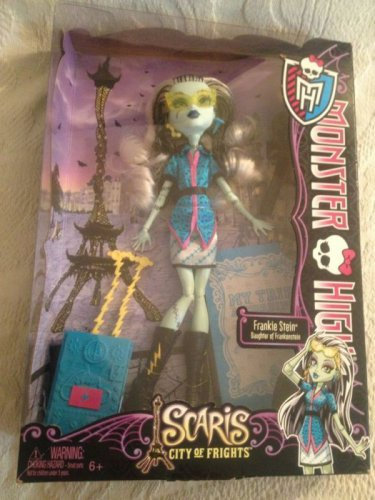 NEW Monster High Scaris City Of Frights Frankie Stein Doll Frankenstein Daughter
