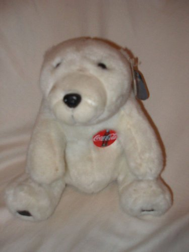NWT 1993 10� Coca Cola plush White Polar Bear stuffed Coke