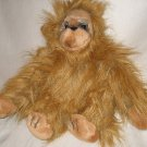 "NWT VTG 1980's plush stuffed 14"" Russ Yomiko Orangutan"