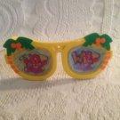 Vintage Fisher-Price Wild Pink Rhino Puffalump Glasses Sunglasses Rhinoceros