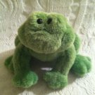 "HTF 6"" Gund Plush Stuffed Green Frog Chubbles ??? EUC"