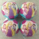 "3 1/2"" Mini Franklin Disney Princess Soft Play Soccer Ball Lot Party Favor"