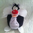 "6"" Applause Looney Tunes Sylvester Cat Smasher Slammer Plush Stuffed"