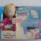 VHTF 1998 Mattel Nickelodeon Rugrats Magical Vanity set w/ Toon Team Angelica