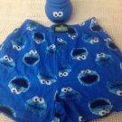 NEW Cookie Monster S Men's Boxer Sleep Shorts In Cookie Jar Sesame Street