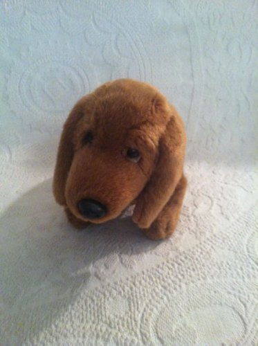 "12"" Long Russ The Dachshund Stuffed Plush Dog Puppy EUC"