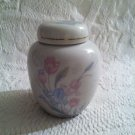 Vintage Made In Japan Mount Clemens Pottery Jar With Lid Ginger Jar Type 4""