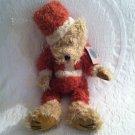 "1996 Boyds J. B. Bean Bear Plush Stuffed Santa With Tag Jointed Arms Legs 18"""