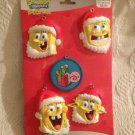 New Nickelodeon Spongebob Christmas Ornaments W/ Gary Snail