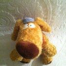"14"" Sandra Boynton Kohls Cares For Kids Plush Stuffed Brown Train Dog Conductor"