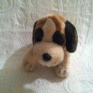 """Russ 12"""" Long St Bernard Plush Stuffed Beanie Dog EUC"""